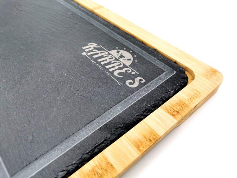 Steakplatte Schiefer